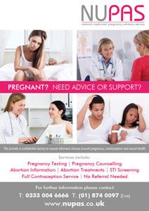 Pregnancy Advice Poster